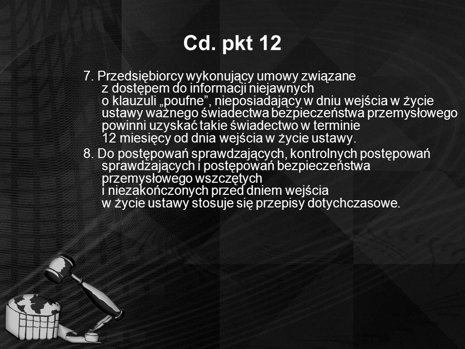 Cd. pkt 12