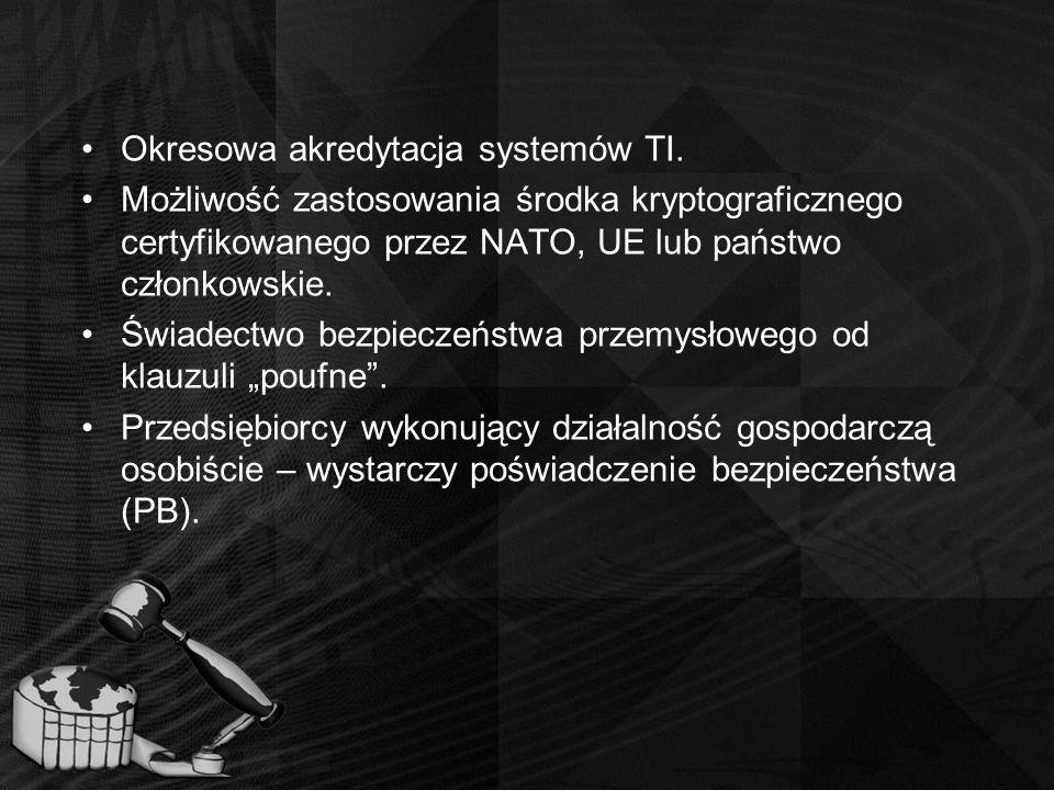 Okresowa akredytacja systemów TI.