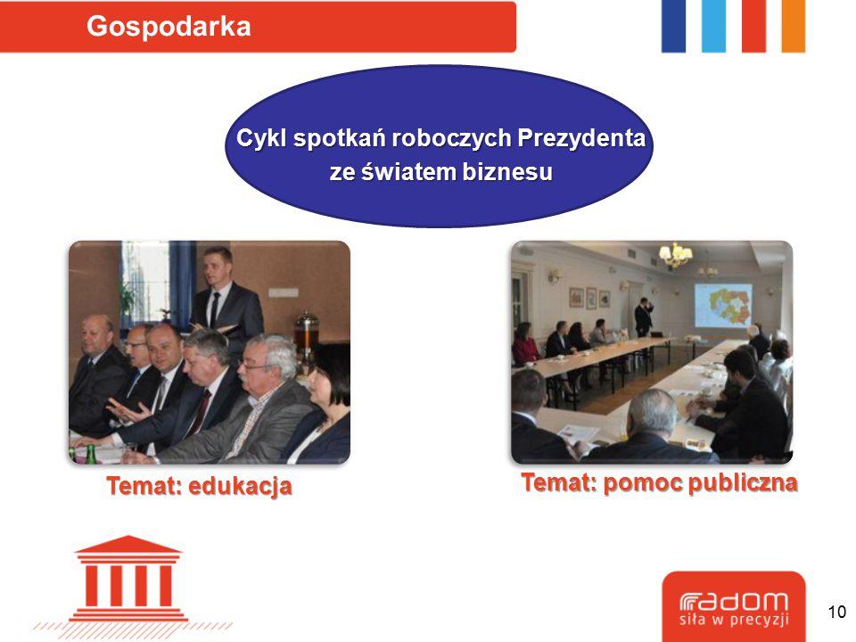 Cykl spotkań roboczych Prezydenta