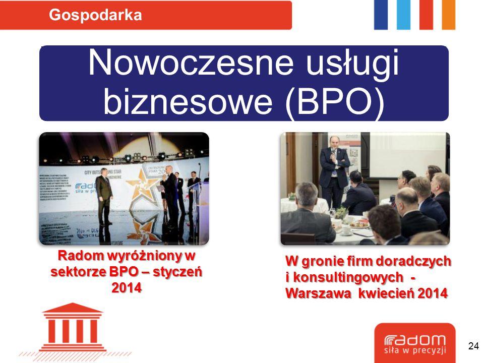 Radom wyróżniony w sektorze BPO – styczeń 2014