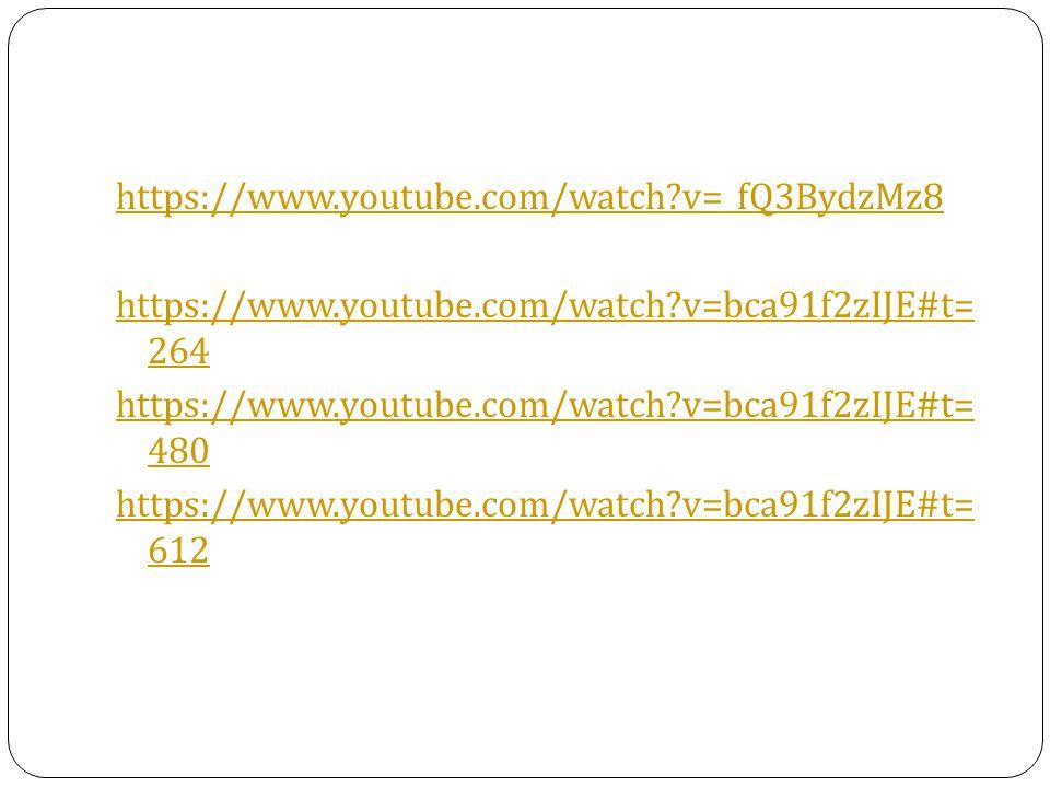 https://www. youtube. com/watch. v=_fQ3BydzMz8 https://www. youtube