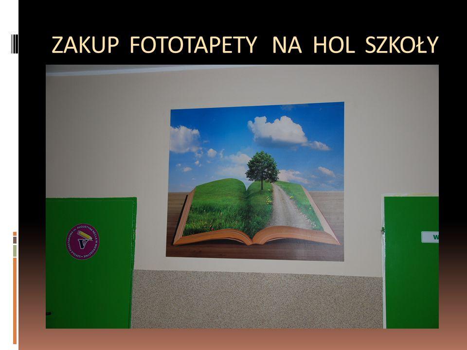 ZAKUP FOTOTAPETY NA HOL SZKOŁY