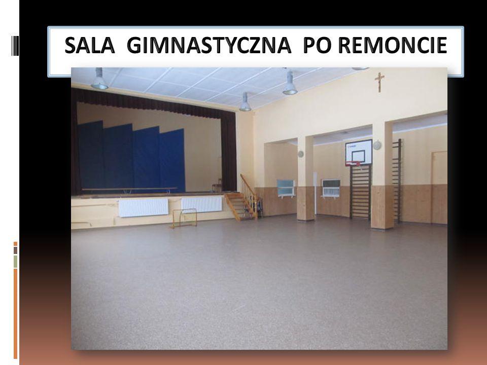 SALA GIMNASTYCZNA PO REMONCIE