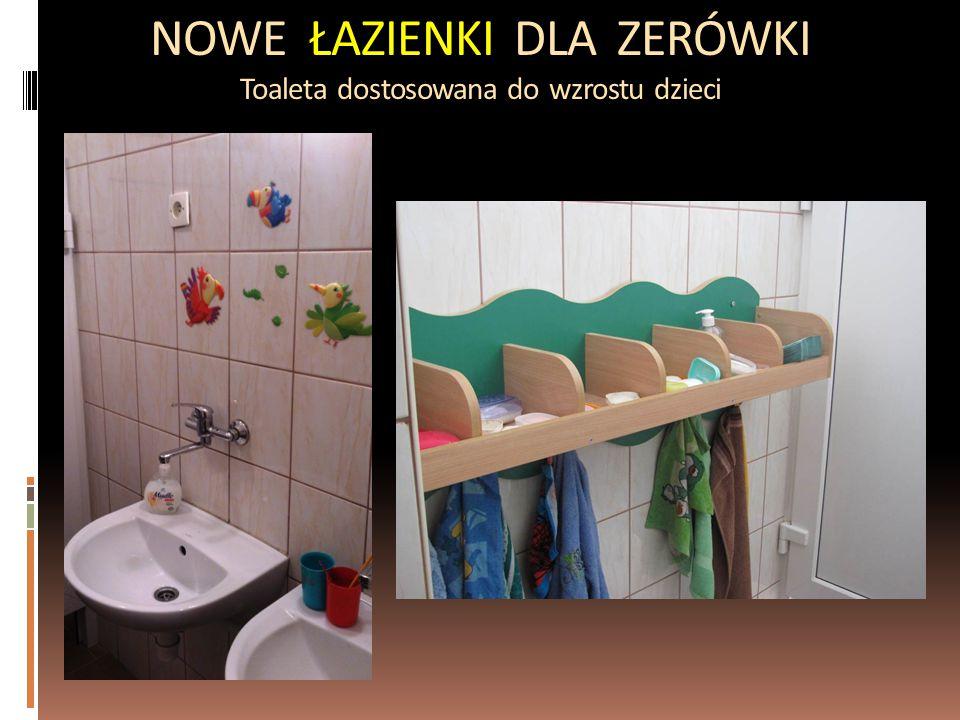 NOWE ŁAZIENKI DLA ZERÓWKI Toaleta dostosowana do wzrostu dzieci