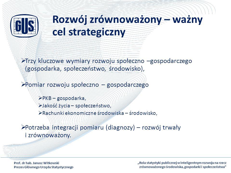 Rozwój zrównoważony – ważny cel strategiczny