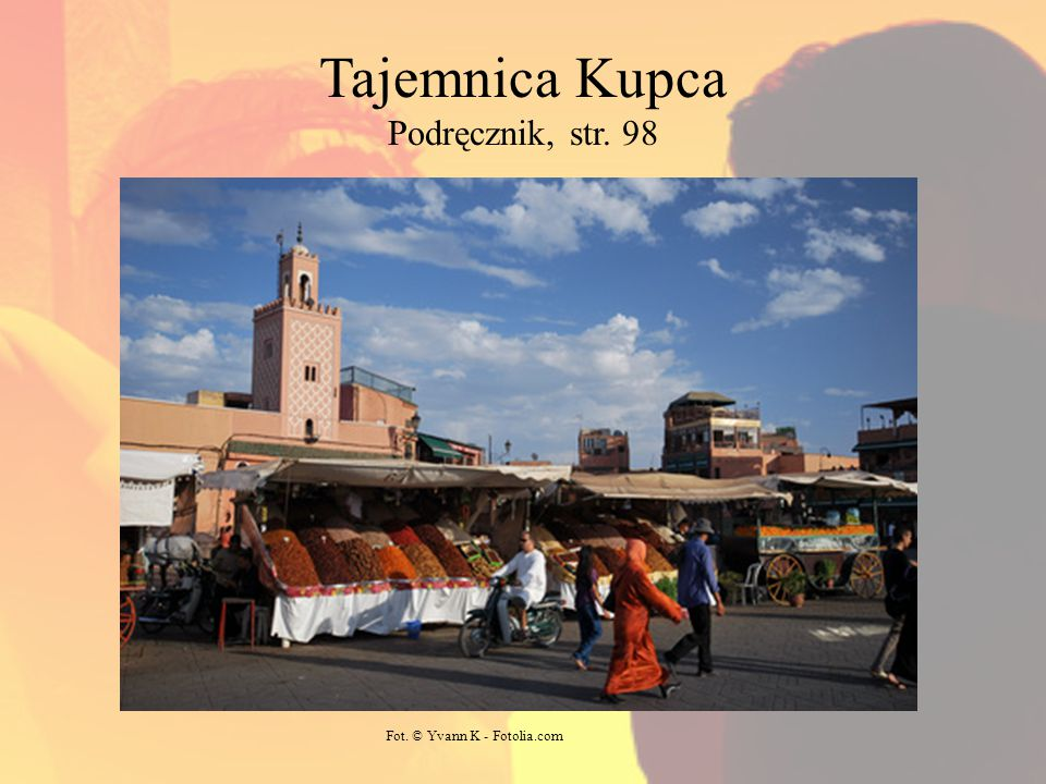 Tajemnica Kupca Podręcznik, str. 98