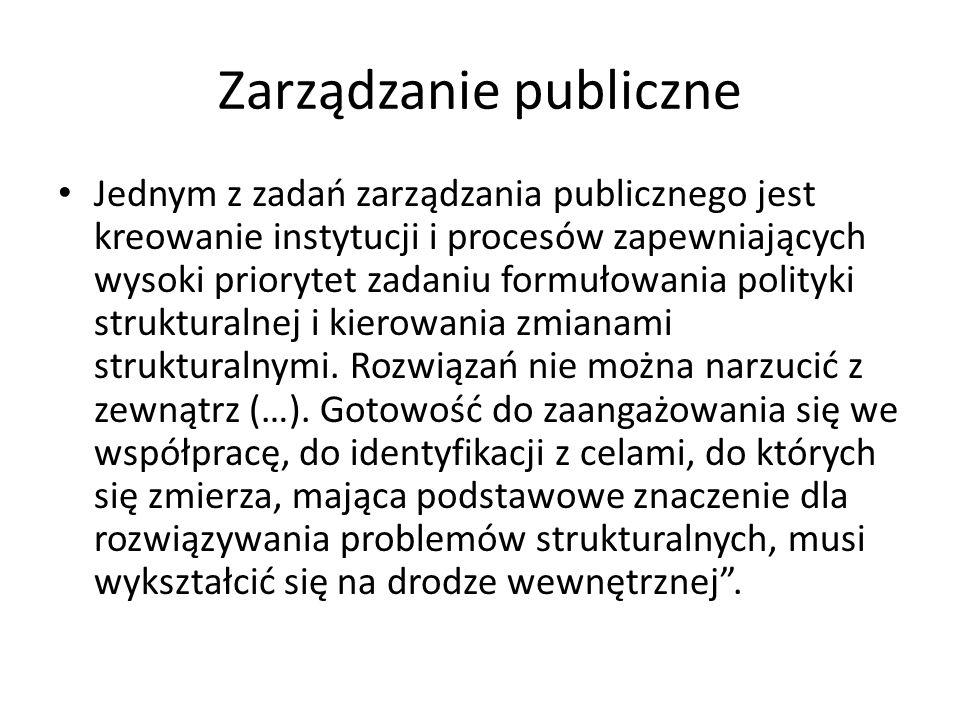 Zarządzanie publiczne
