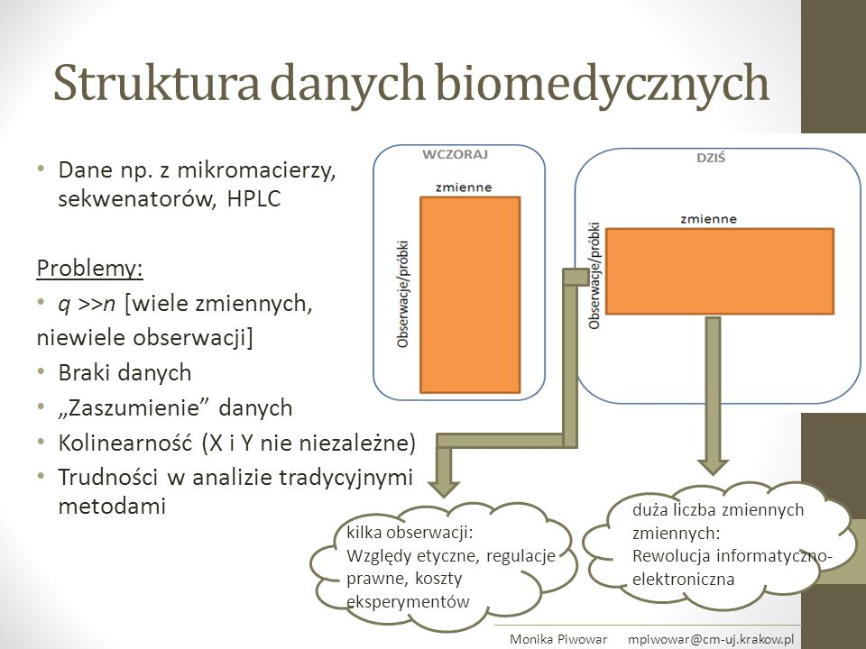 Struktura danych biomedycznych