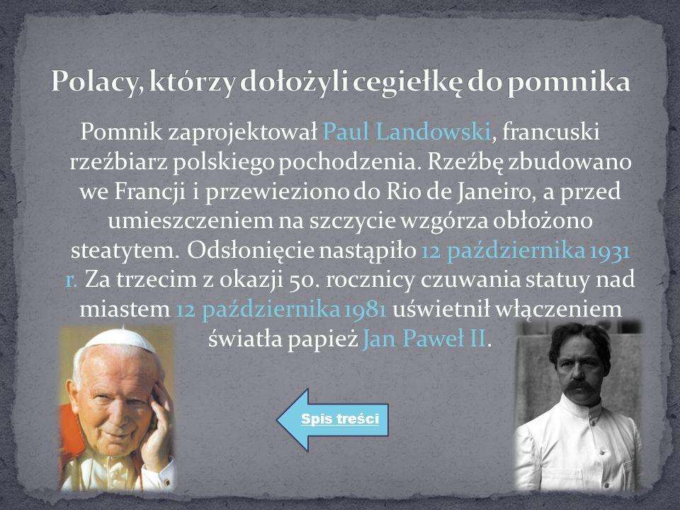 Polacy, którzy dołożyli cegiełkę do pomnika