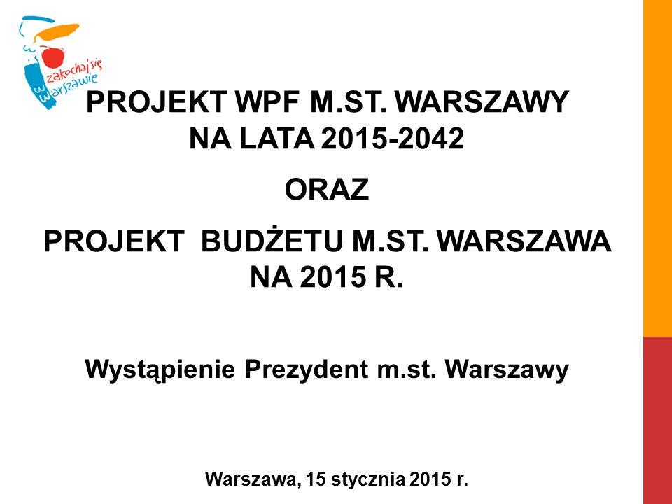 Wystąpienie Prezydent m.st. Warszawy
