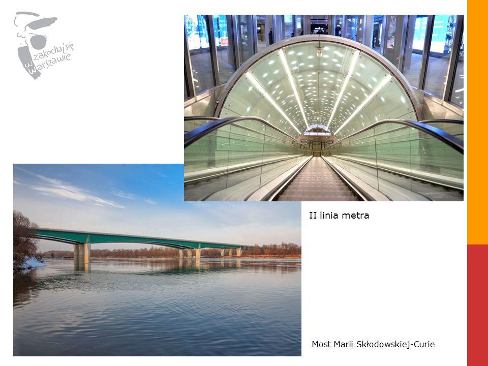 II linia metra Most Marii Skłodowskiej-Curie