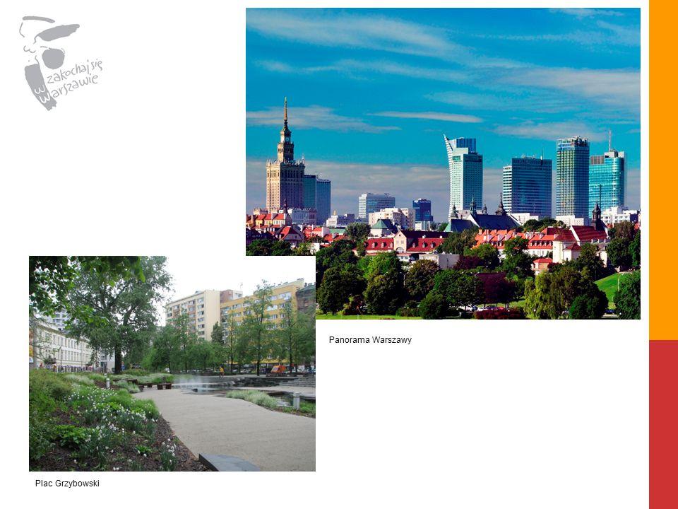 Panorama Warszawy Plac Grzybowski