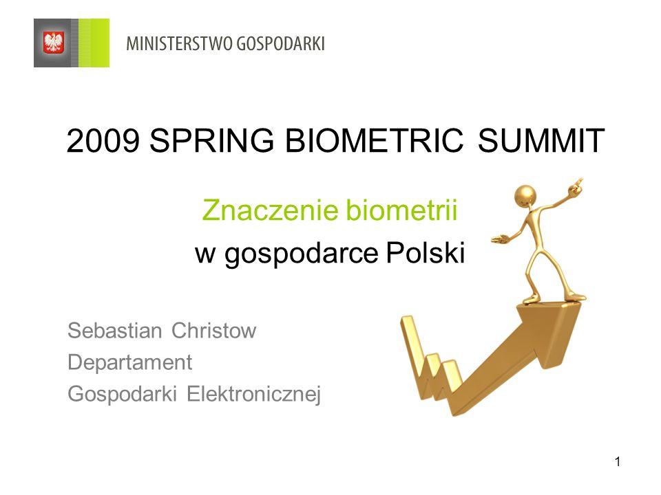 2009 SPRING BIOMETRIC SUMMIT