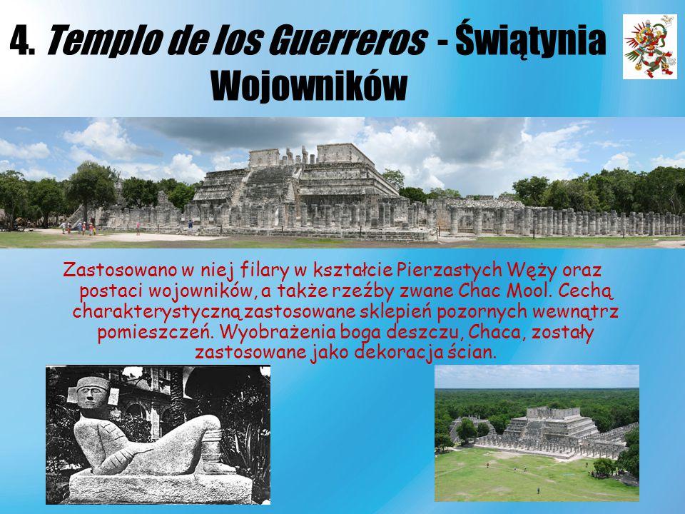 4. Templo de los Guerreros - Świątynia Wojowników
