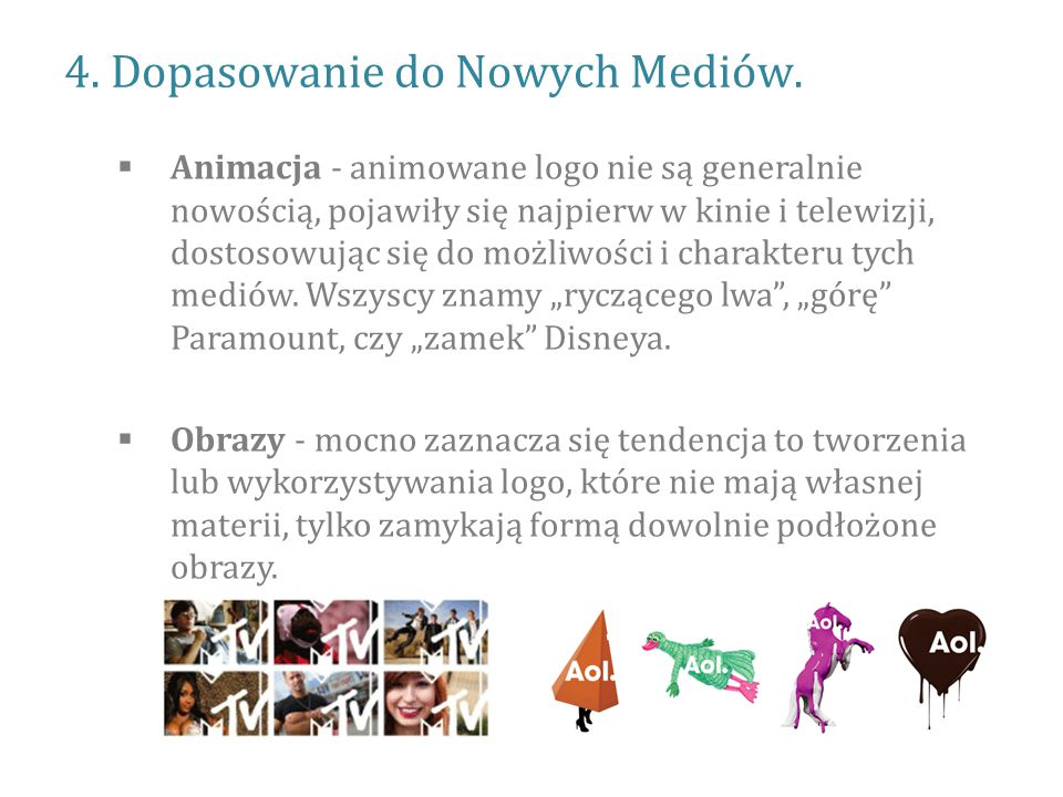 4. Dopasowanie do Nowych Mediów.