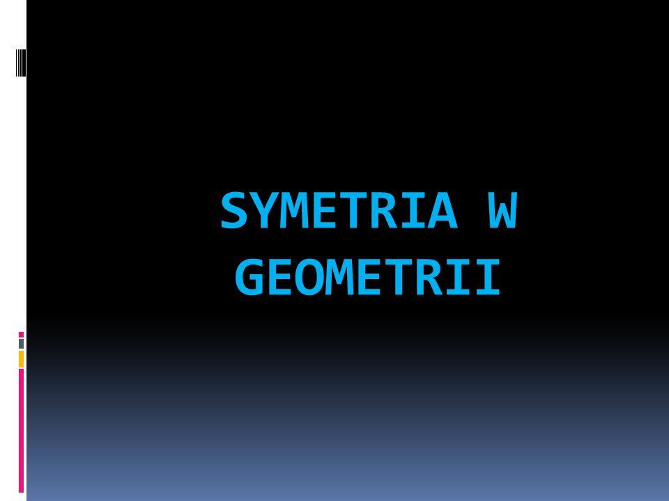 SYMETRIA W GEOMETRII