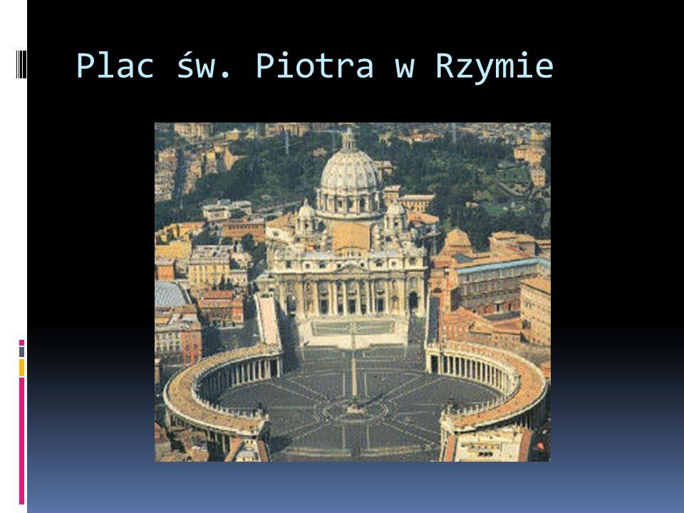Plac św. Piotra w Rzymie