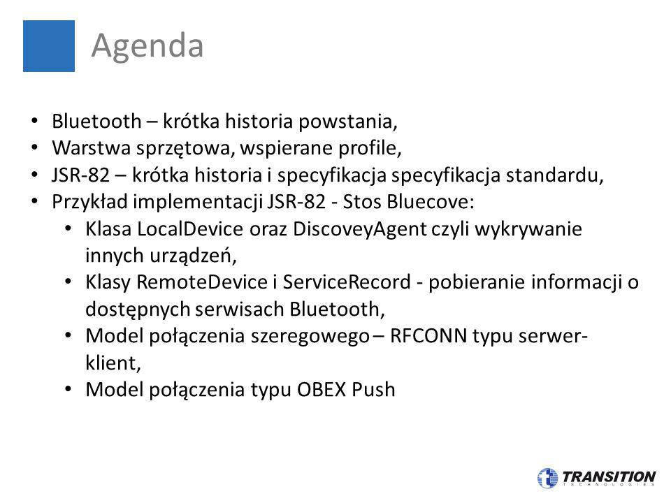 Agenda Bluetooth – krótka historia powstania,