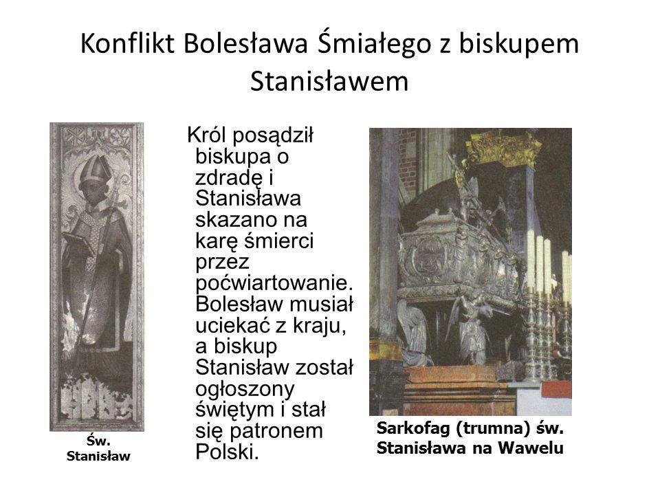 Konflikt Bolesława Śmiałego z biskupem Stanisławem