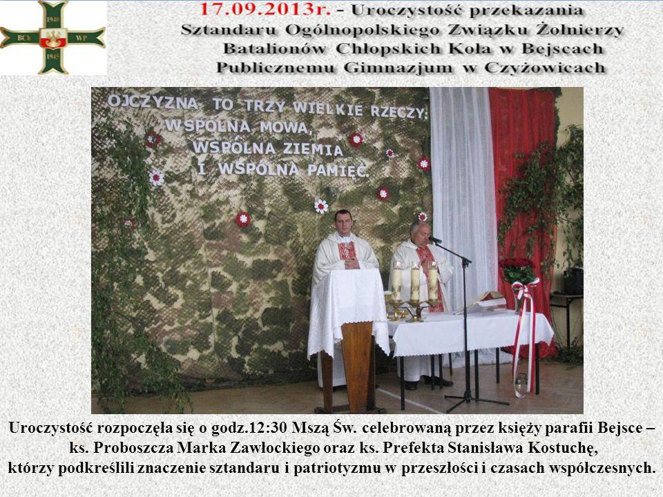 Uroczystość rozpoczęła się o godz. 12:30 Mszą Św