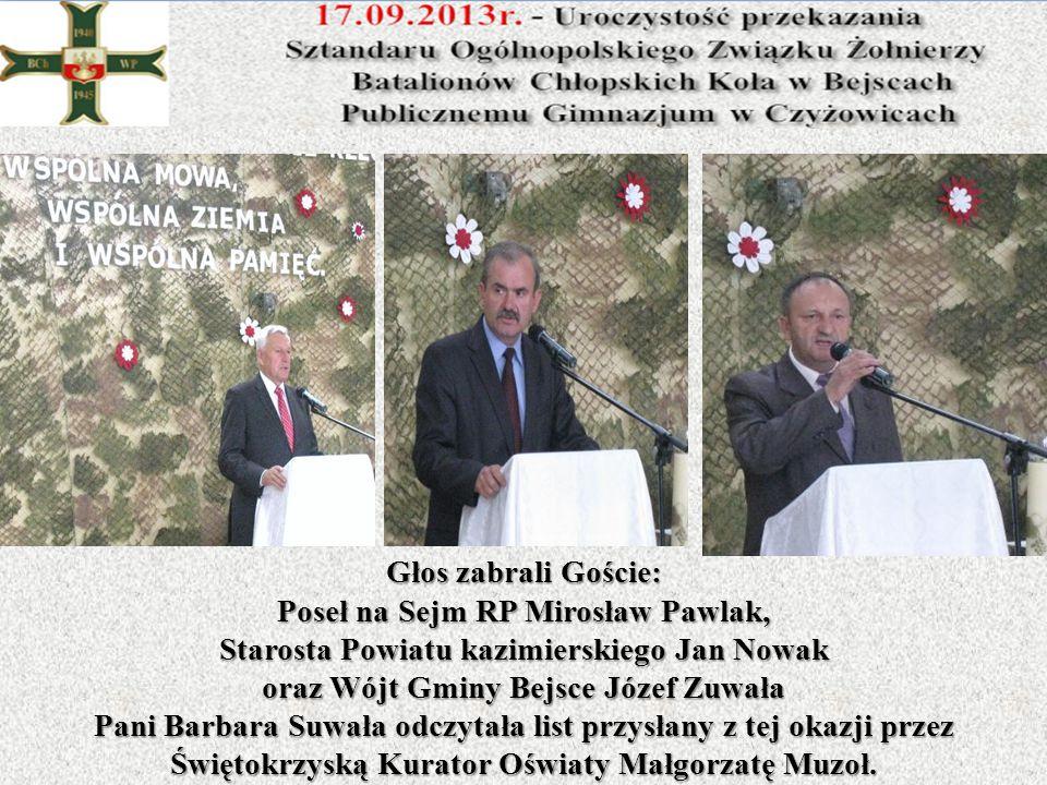 Poseł na Sejm RP Mirosław Pawlak,