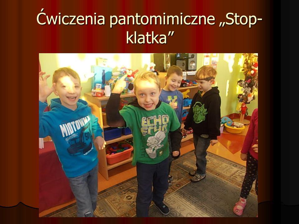 """Ćwiczenia pantomimiczne """"Stop-klatka"""