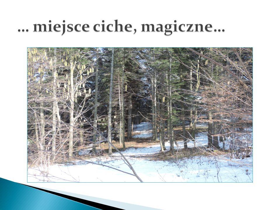 … miejsce ciche, magiczne…