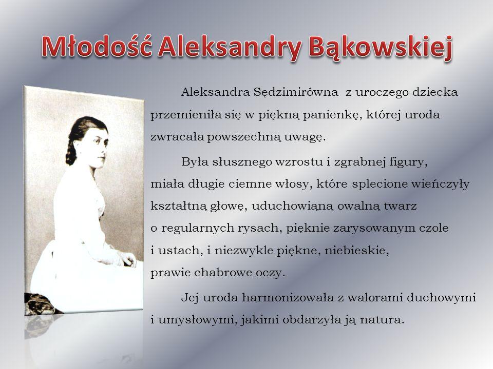 Młodość Aleksandry Bąkowskiej