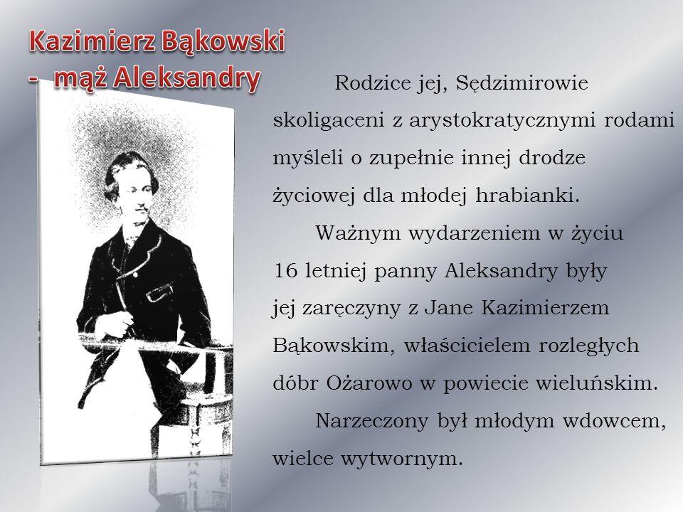 Kazimierz Bąkowski - mąż Aleksandry