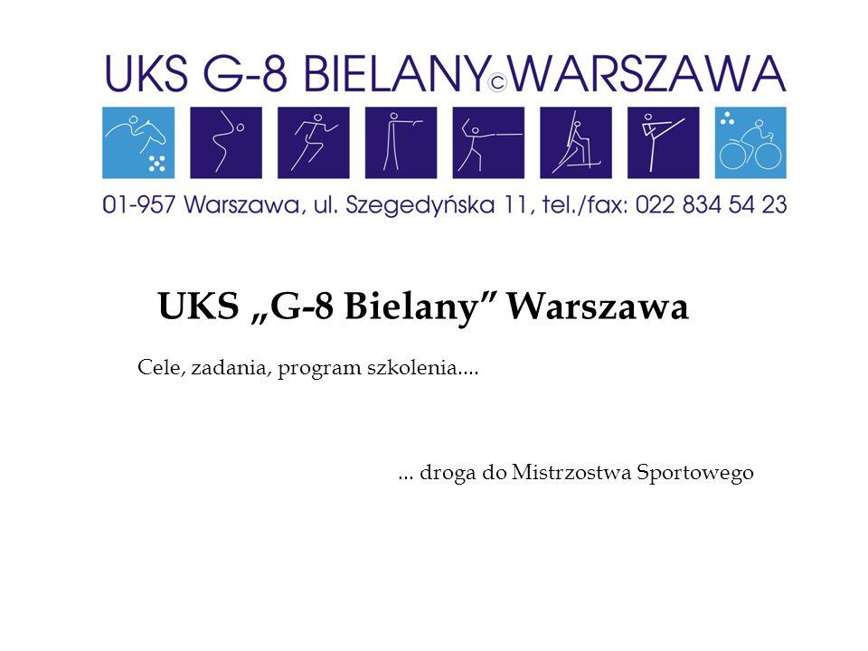 """UKS """"G-8 Bielany Warszawa"""