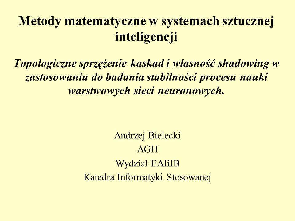 Andrzej Bielecki AGH Wydział EAIiIB Katedra Informatyki Stosowanej