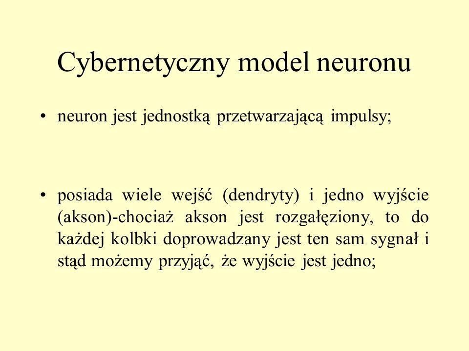 Cybernetyczny model neuronu