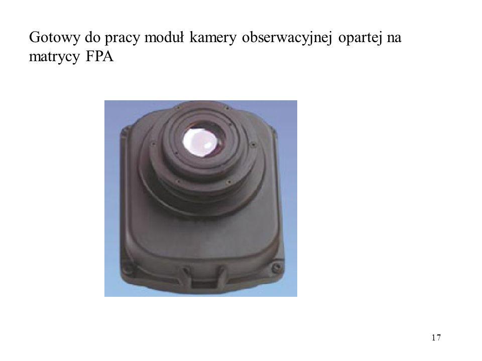 Gotowy do pracy moduł kamery obserwacyjnej opartej na matrycy FPA