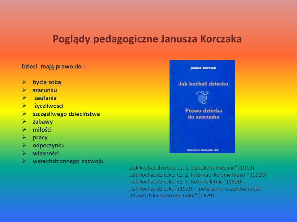 Poglądy pedagogiczne Janusza Korczaka