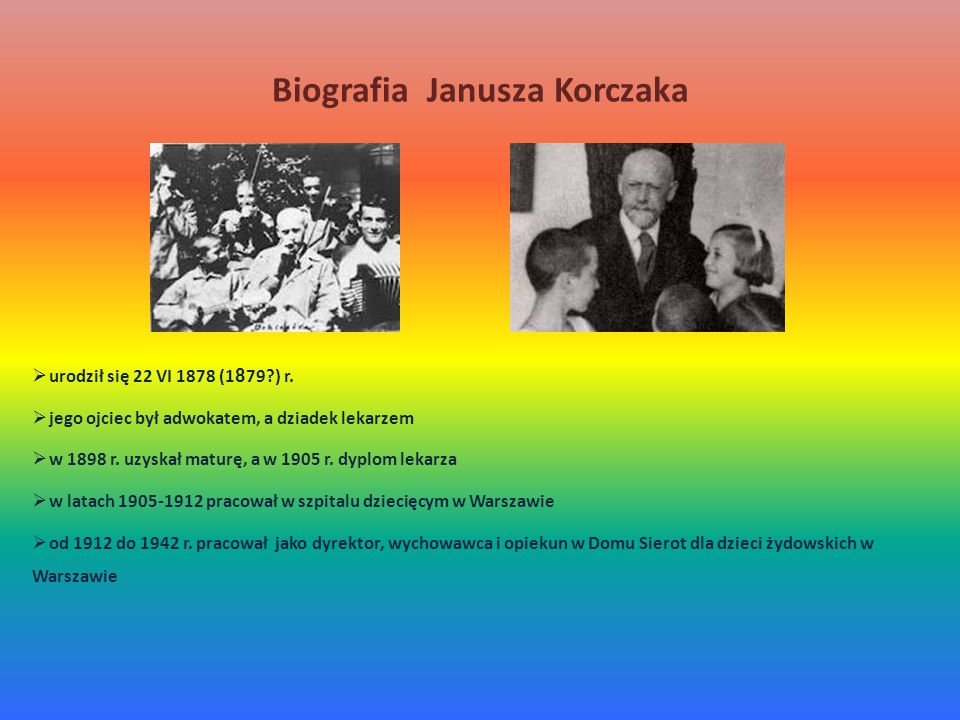 Biografia Janusza Korczaka