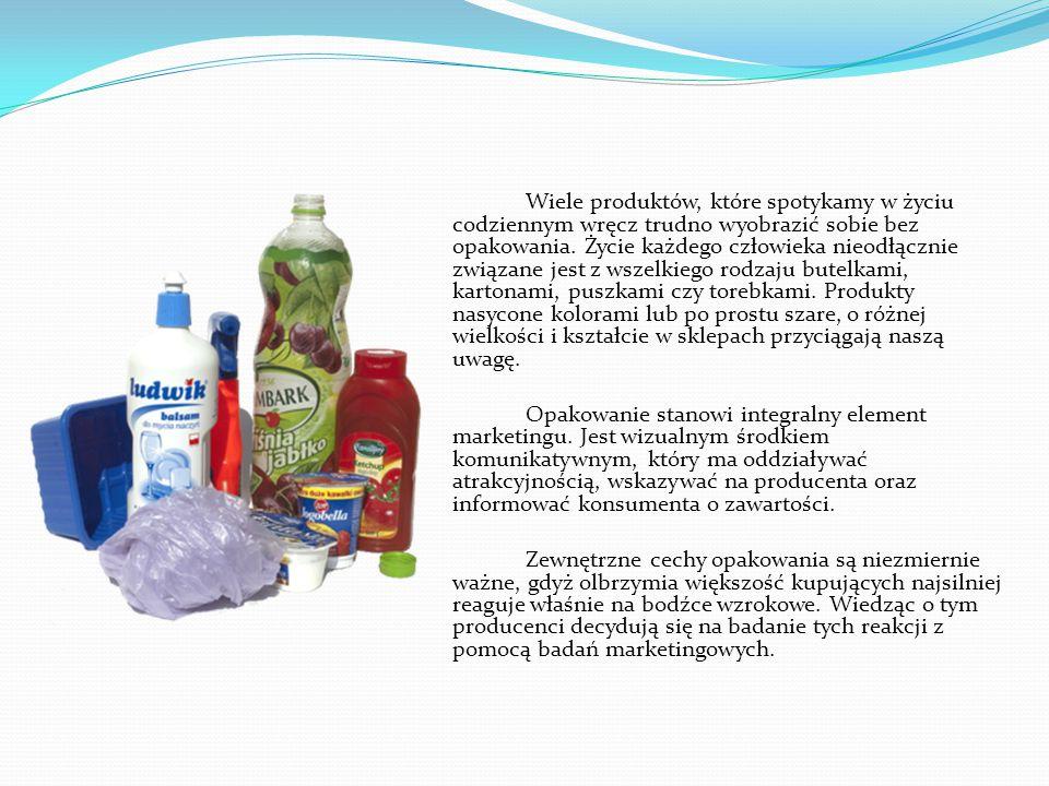 Wiele produktów, które spotykamy w życiu codziennym wręcz trudno wyobrazić sobie bez opakowania. Życie każdego człowieka nieodłącznie związane jest z wszelkiego rodzaju butelkami, kartonami, puszkami czy torebkami. Produkty nasycone kolorami lub po prostu szare, o różnej wielkości i kształcie w sklepach przyciągają naszą uwagę.