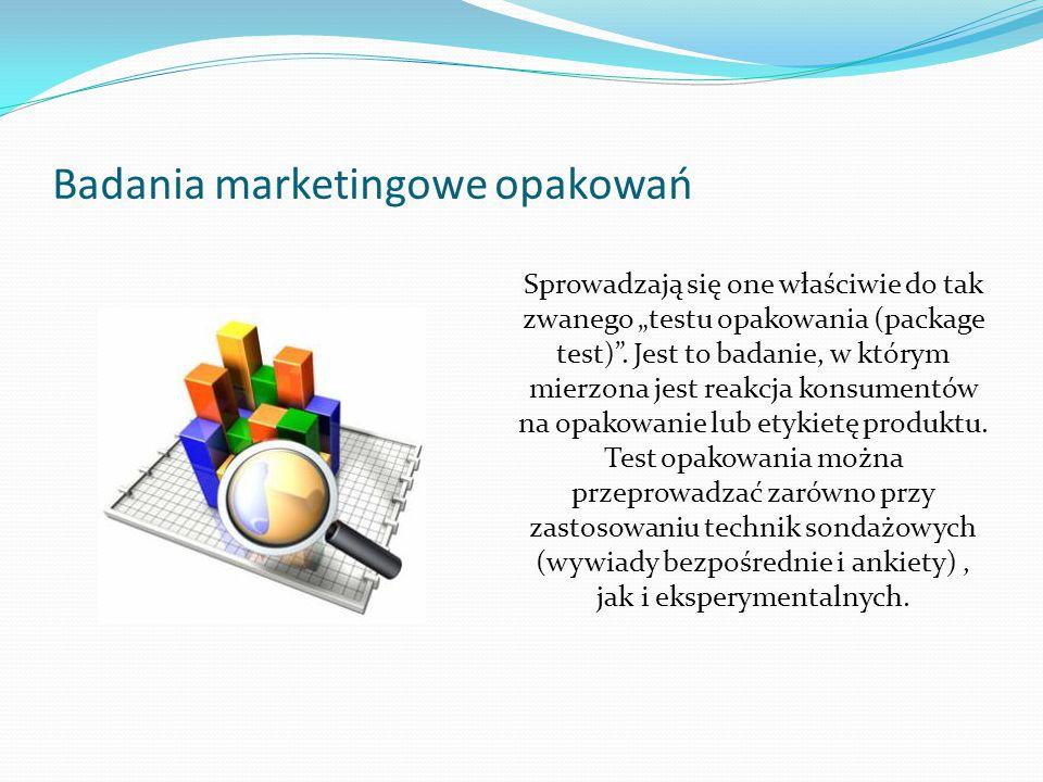 Badania marketingowe opakowań