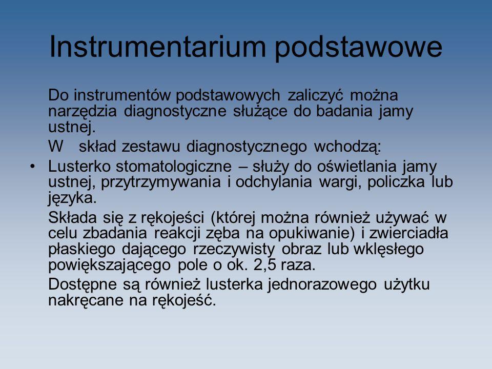 Instrumentarium podstawowe