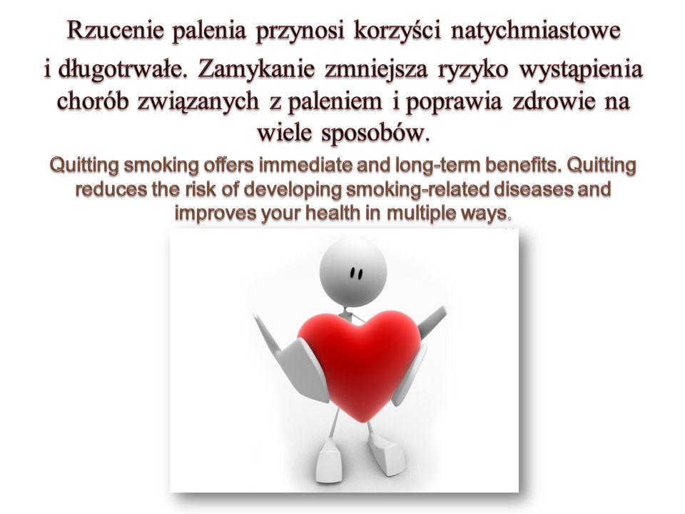 Rzucenie palenia przynosi korzyści natychmiastowe