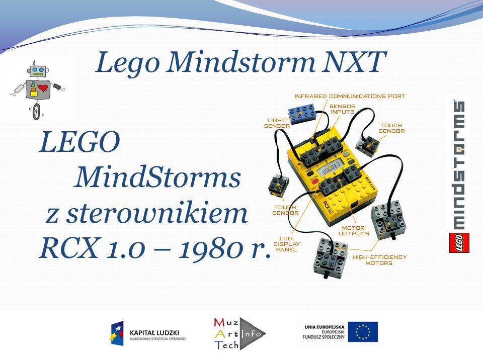 Lego Mindstorm NXT LEGO MindStorms z sterownikiem RCX 1.0 – 1980 r.
