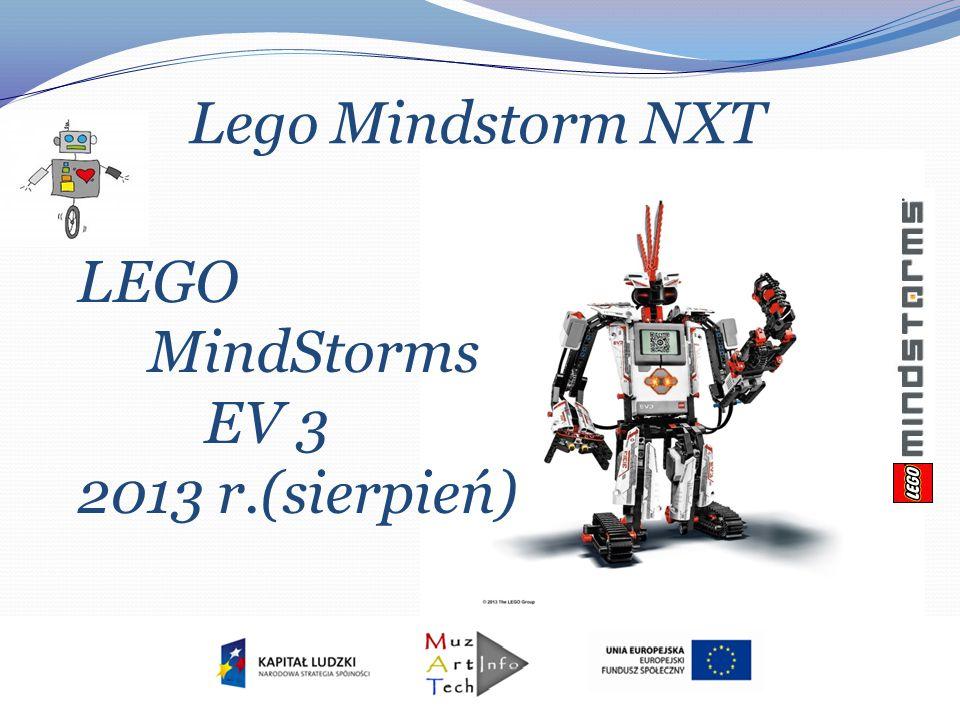 Lego Mindstorm NXT LEGO MindStorms EV 3 2013 r.(sierpień)
