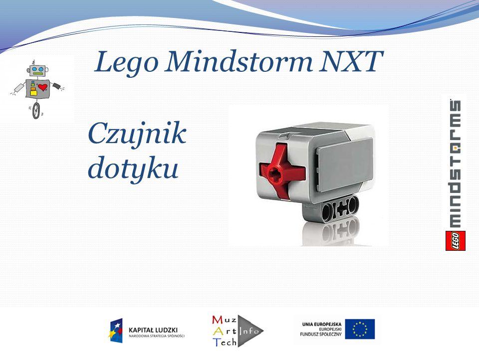Lego Mindstorm NXT Czujnik dotyku