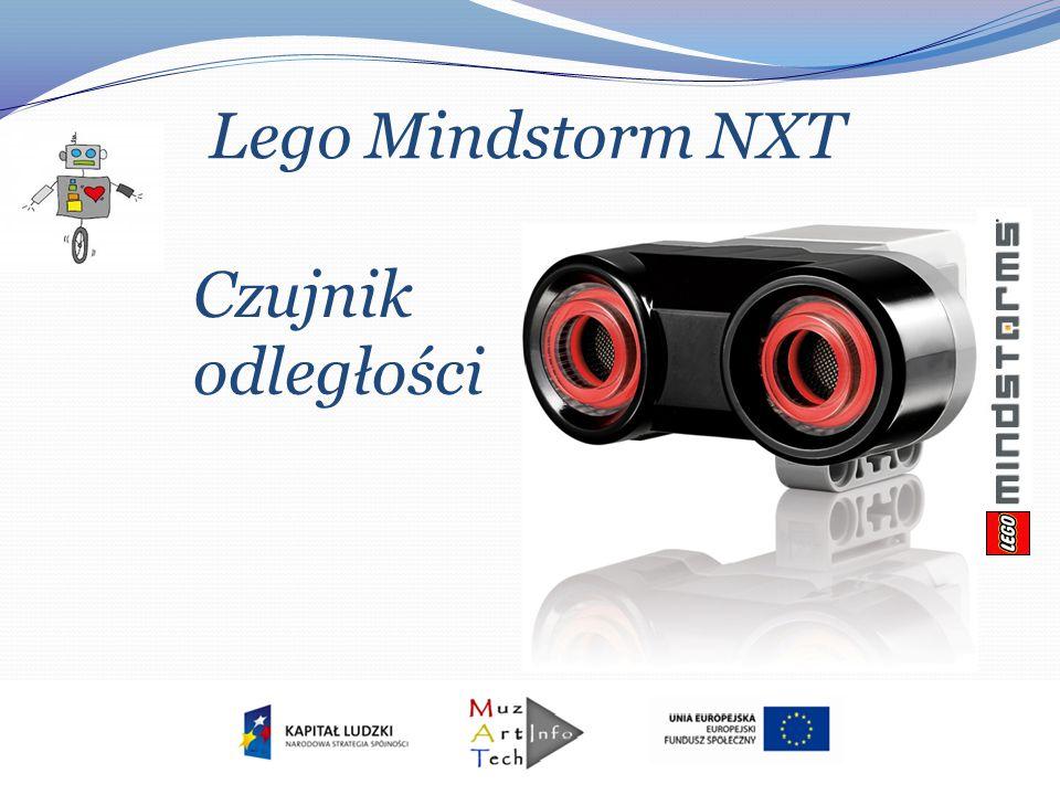 Lego Mindstorm NXT Czujnik odległości