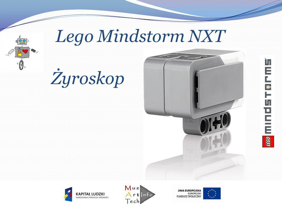 Lego Mindstorm NXT Żyroskop