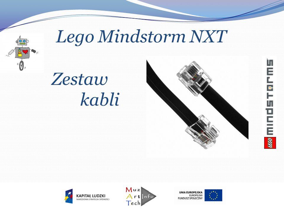 Lego Mindstorm NXT Zestaw kabli