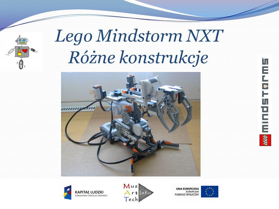 Lego Mindstorm NXT Różne konstrukcje