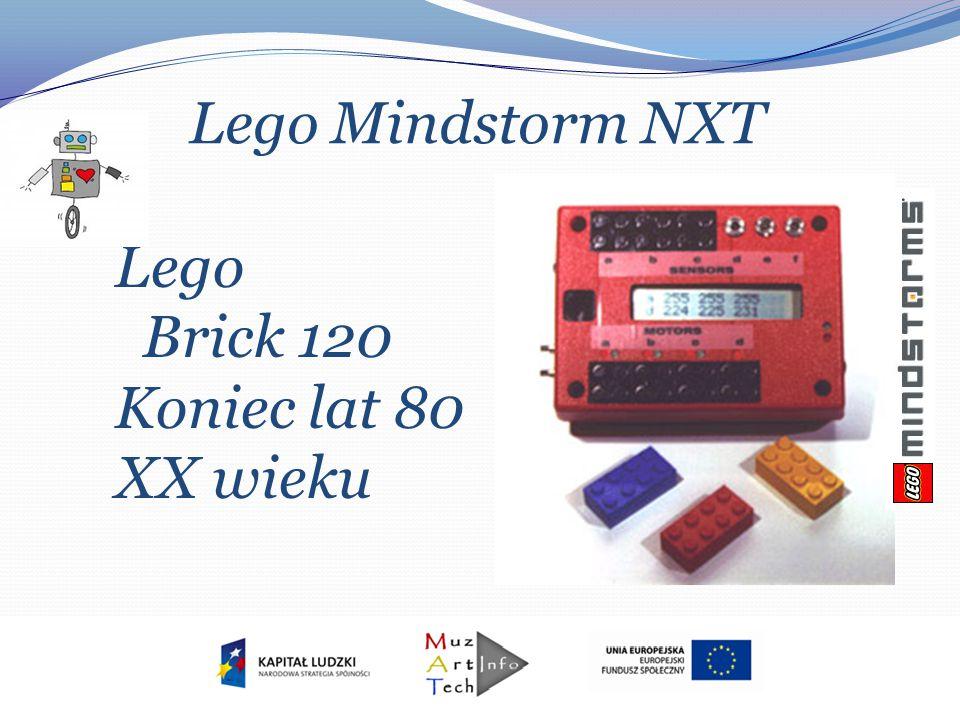 Lego Mindstorm NXT Lego Brick 120 Koniec lat 80 XX wieku