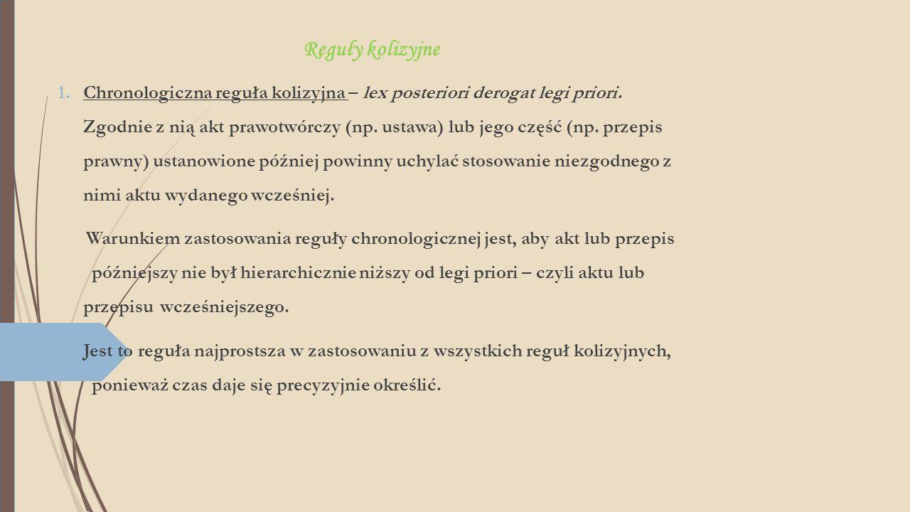 Reguły kolizyjne