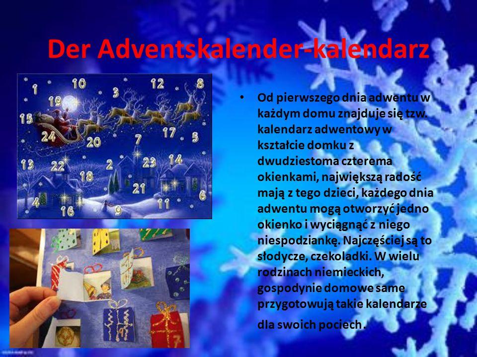 Der Adventskalender-kalendarz