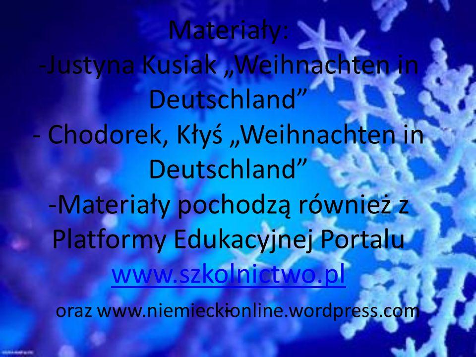 oraz www.niemieckionline.wordpress.com